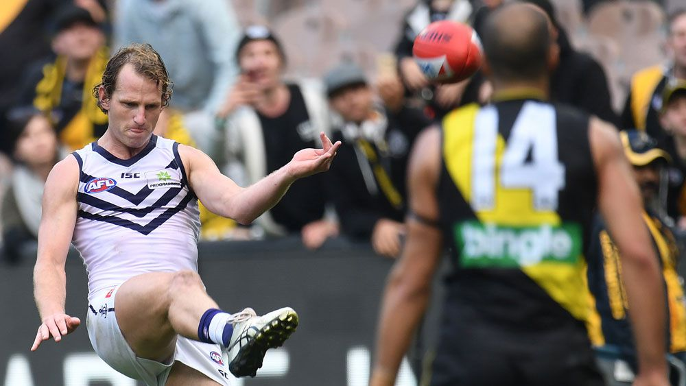 David Mundy the hero for Fremantle Dockers in AFL thriller against Richmond Tigers
