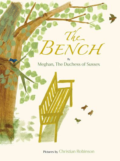 Cover of The Bench, a children's book by Meghan Markle, the Duchess of Sussex