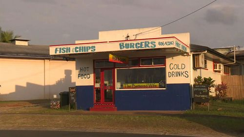 The owner of The Battered Wife fish and chip shop in Queensland has come under fire.