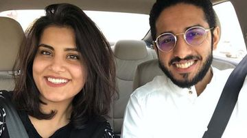 A stand-up comedian and women's right-to-drive activist, Fahad al-Butairi and Loujain al-Hathloul, were once seen as a groundbreaking Saudi power couple