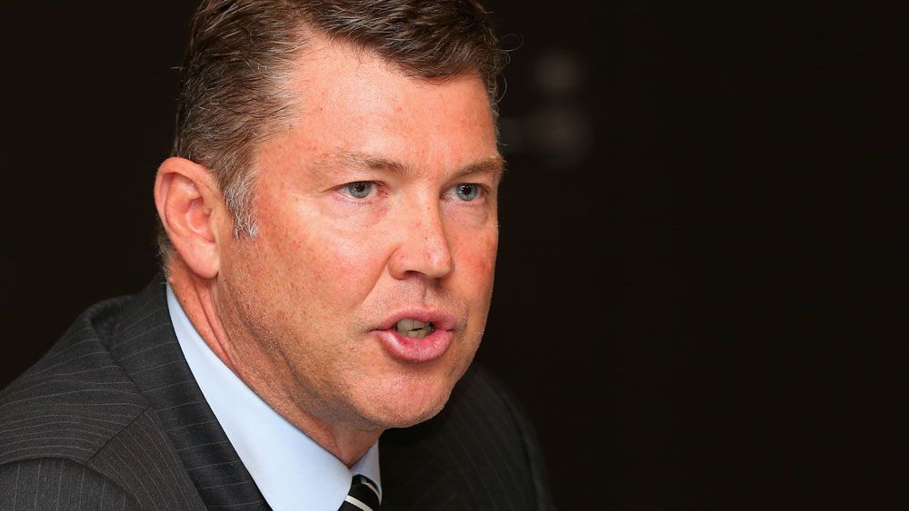 Collingwood Magpies CEO Gary Pert. (Getty Images)