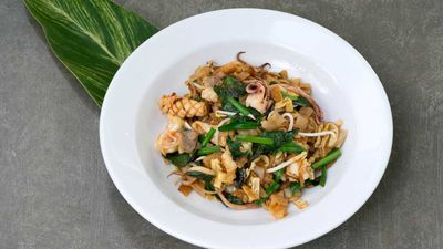 Spicy seafood noodle recipe