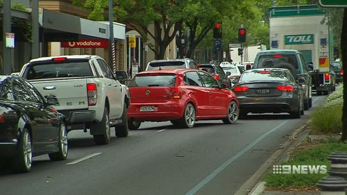 The Parade in Norwood has taken out Adelaide's top crash hotspot for a second year in a row.