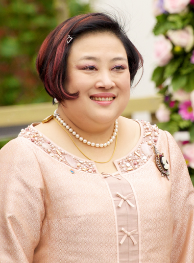 Princess Soamsawali Kitiyakara, former wife of her first cousin King Vajiralongkorn.