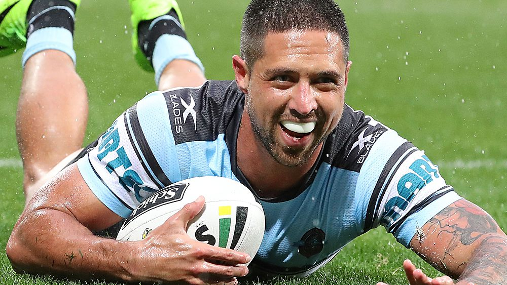 NRL: Cronulla Sharks winger Gerard Beale signs new three-year deal with Warriors