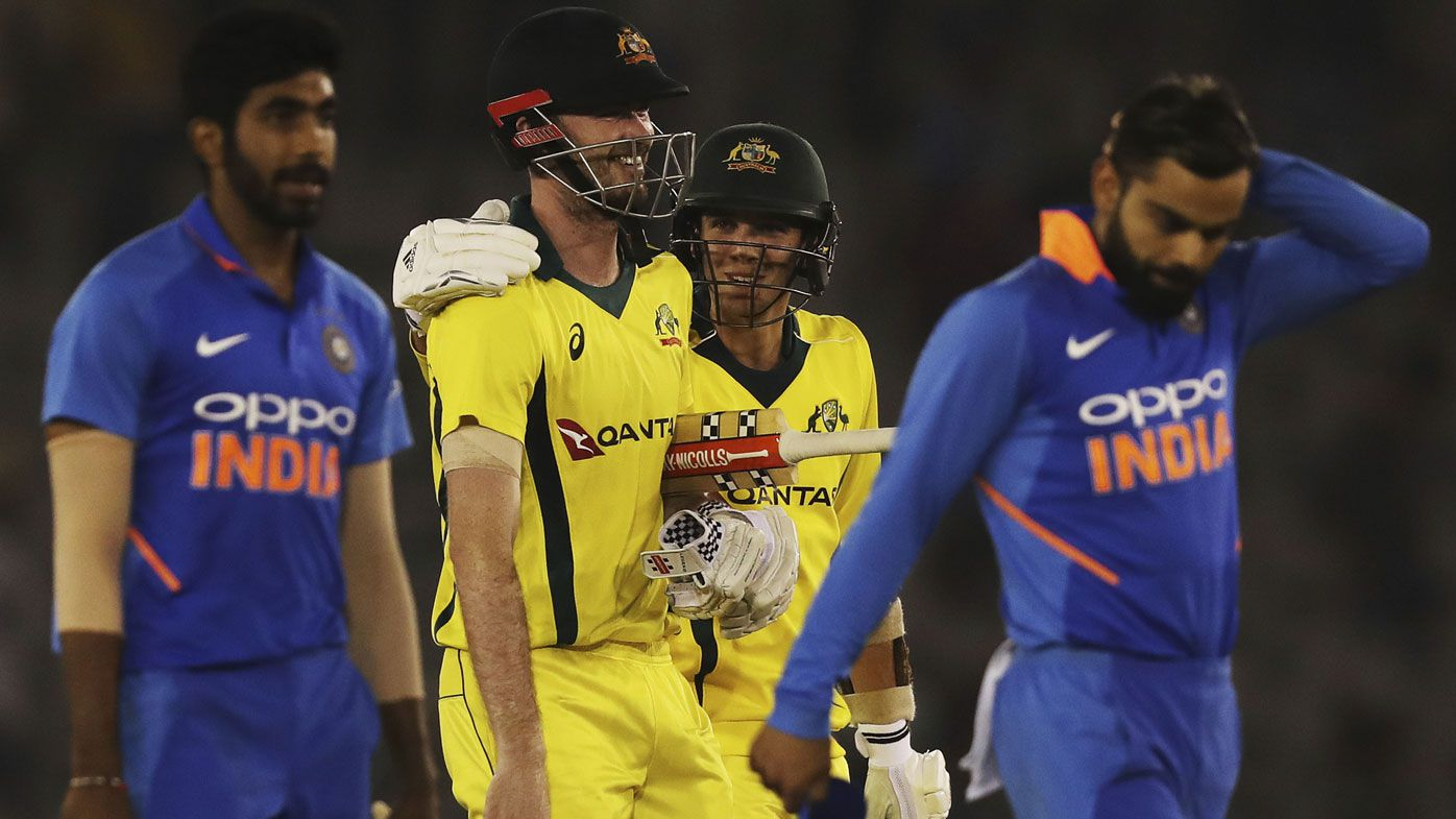 Aussies complete record ODI chase of 359 to win fourth ODI against India, level series