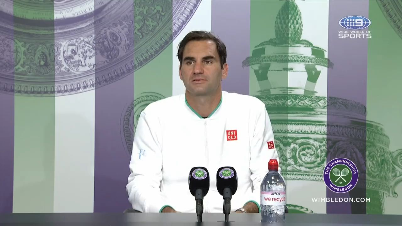 Roger Federer pulls out of Tokyo Olympics after knee 'setback' during Wimbledon run