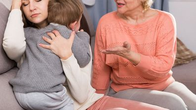 Woman bans mother-in-law from seeing her son and grandchild