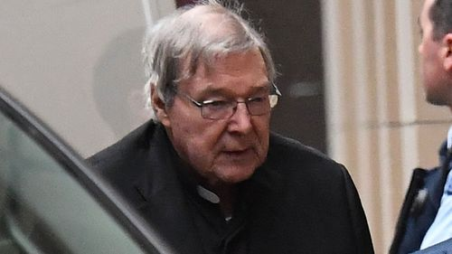 George Pell is serving a sentence of at least three years and eight months.