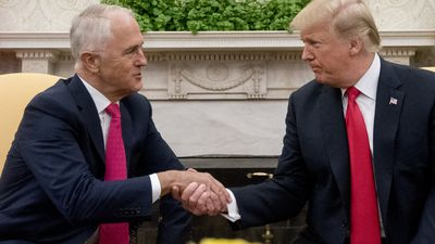 Turnbull backs Trump's calls to crackdown on North Korea