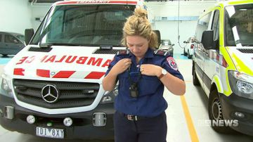 Victorian paramedics to take part in Australian-first trial of body cameras