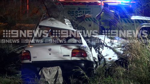 Police spotted the vehicle on the M1 Motorway at Tweed Heads before a pursuit began, but it was later called off because of the man's dangerous driving.