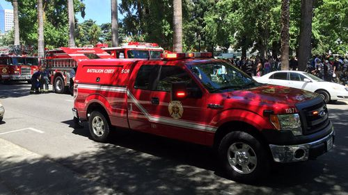 The police department said none of the injuries are believed to be life threatening. (Sacramento Police)