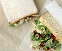 Mediterranean-style sandwiches