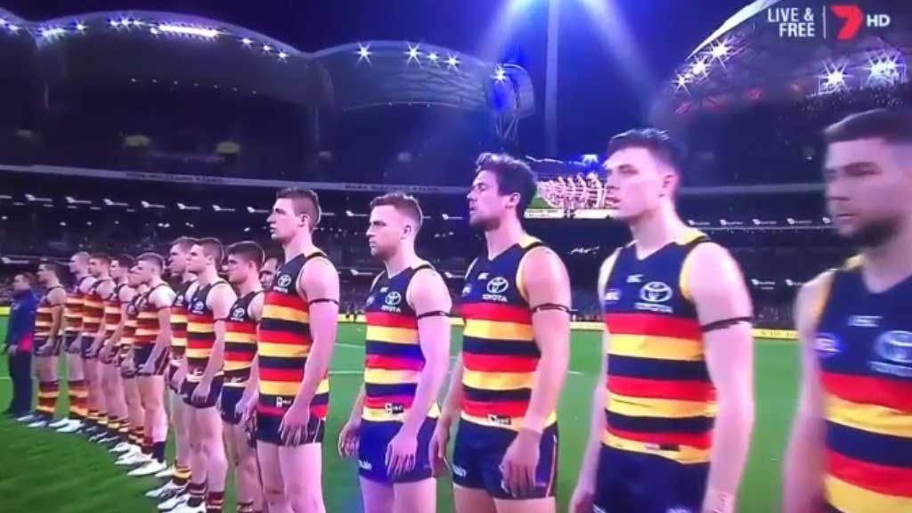Crows not disrespecting anthem: Pyke