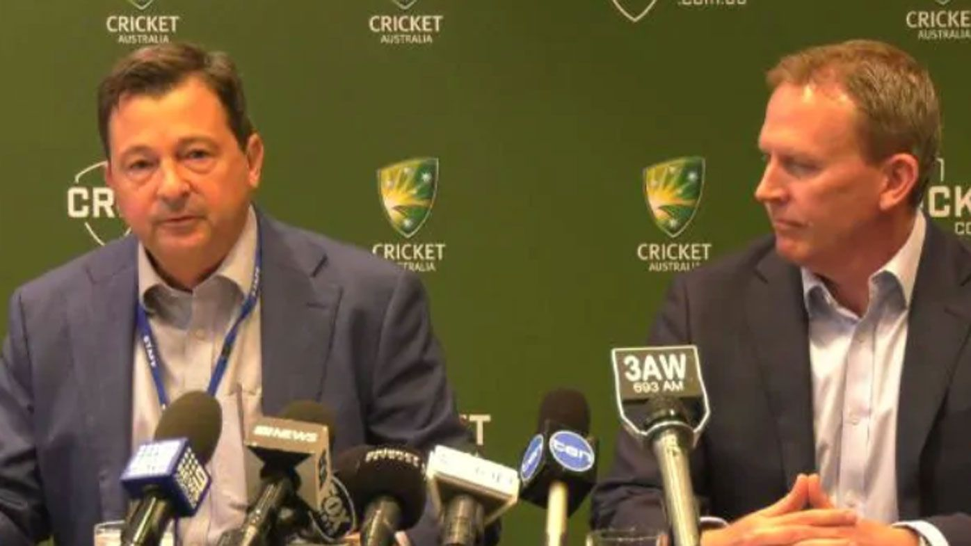 Cricket Australia unveils new CEO to replace James Sutherland