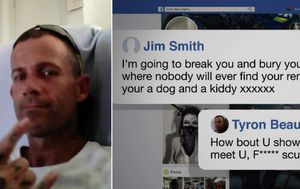 Police probe Facebook death threat in NSW murder