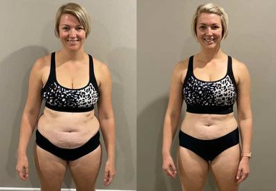 Jessica The Healthy Mummy weight loss photos
