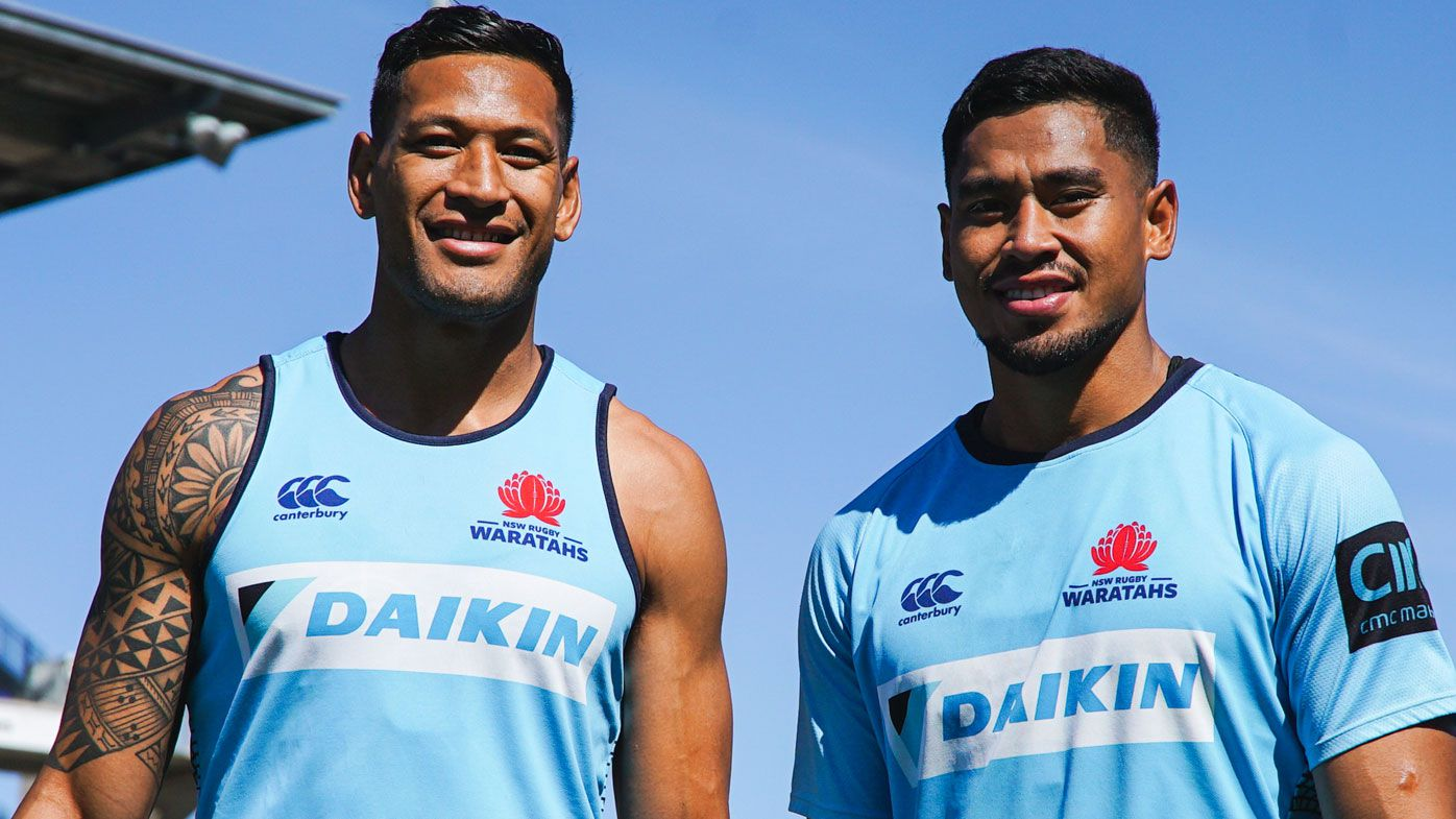 Israel Folau (left) and his brother John