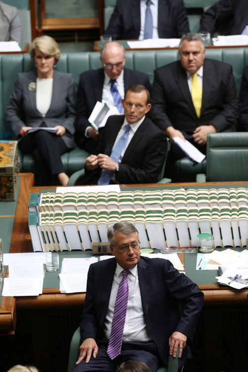 Acting Prime Minister Wayne Swan and Opposition Leader Tony Abbott during House of Representatives question time at Parliament House in Canberra in September 2012. (Image: AAP)