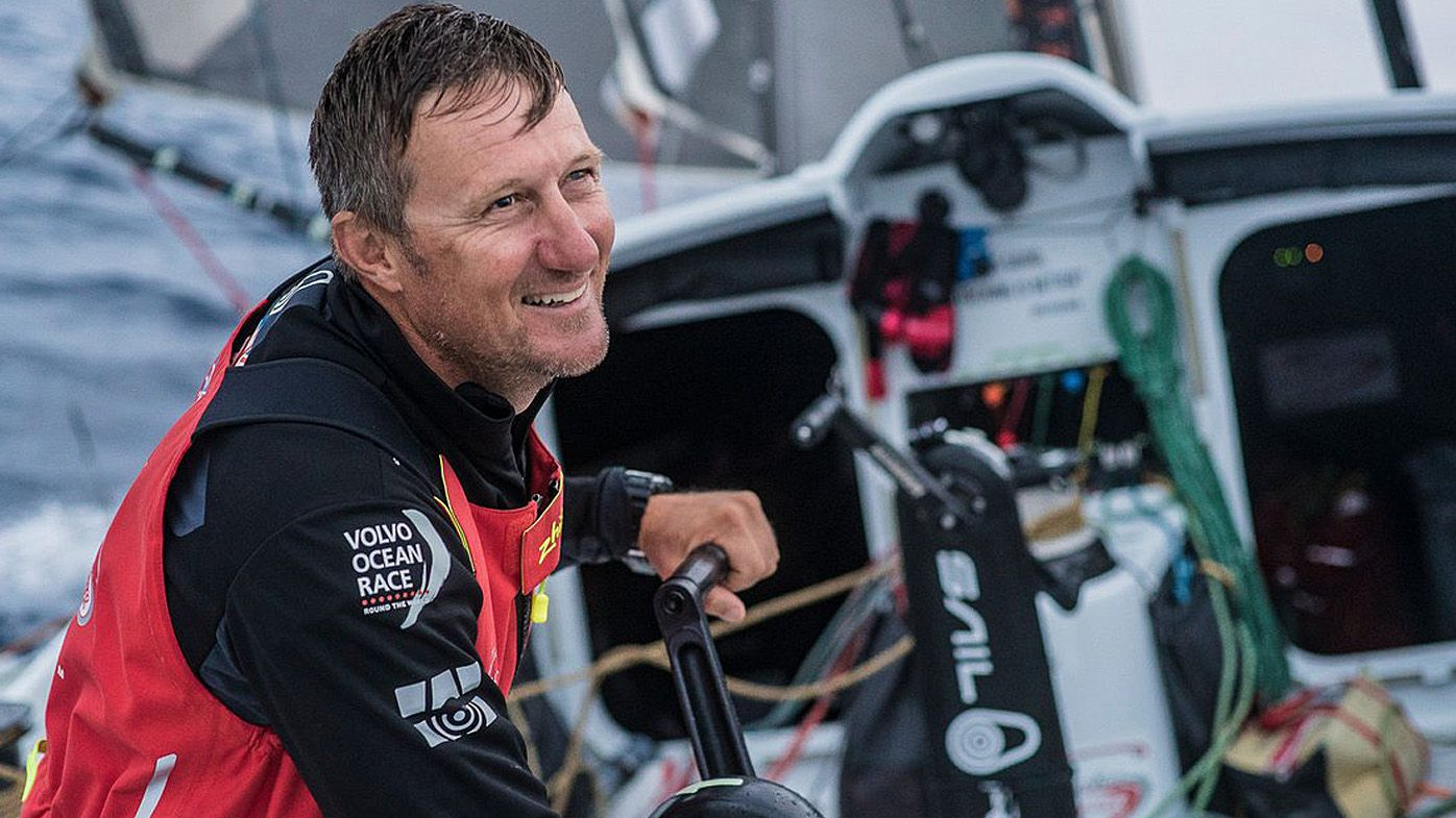 Adelaide local John Fisher 'presumed lost at sea' after falling overboard at Volvo Ocean Race