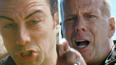 'I wore a fake face': Joseph Gordon-Levitt's extreme makeover to become Bruce Willis for Looper