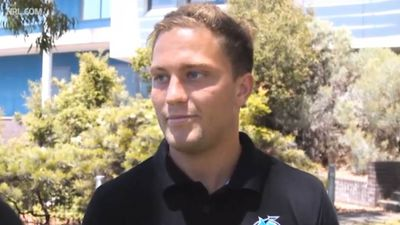 NRL news: Paul Gallen says Matt Moylan content at new home Cronulla, confirms position at five-eighth