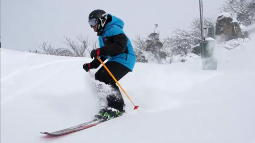 At Perisher, there has been 62cm of snow since Wednesday. (Perisher)