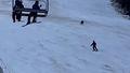 Bear filmed in hot pursuit of skier at Romanian resort