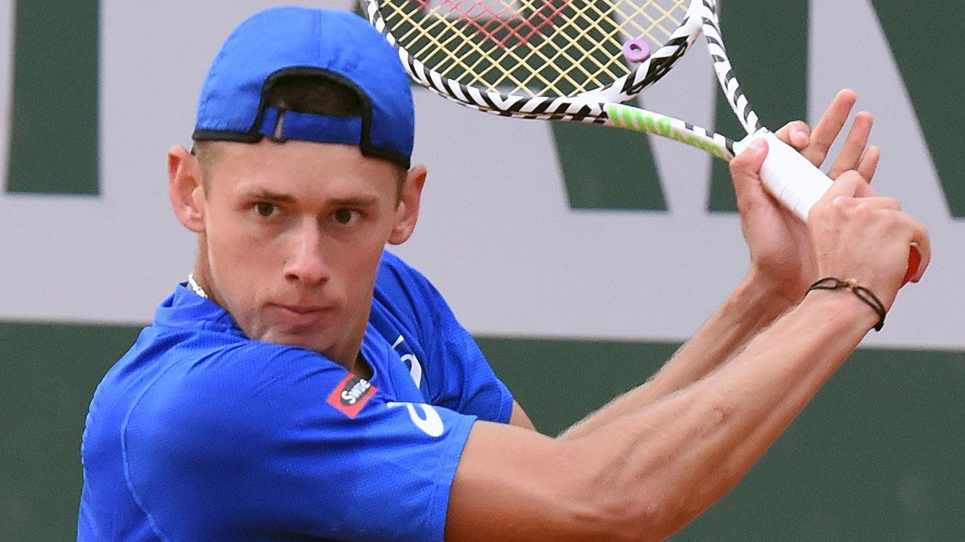 Alex de Minaur vows to learn from mistakes after injury scare