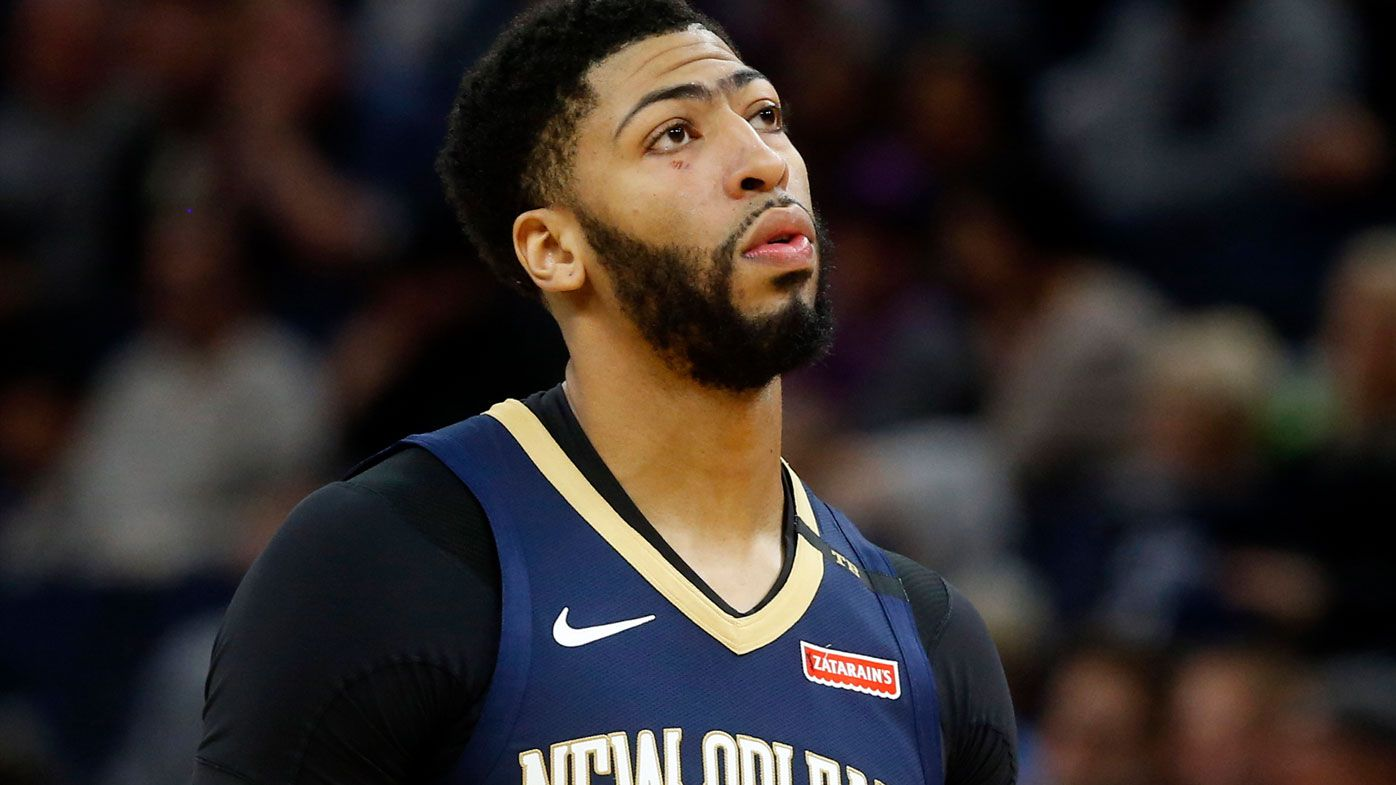 sports shoes 77747 ad446 NBA: Anthony Davis Sr. causes hysteria over son's trade with ...
