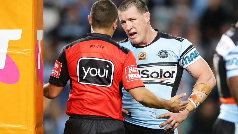 NRL referees didn't cost Cronulla Sharks the final against North Queensland Cowboys says Phil Gould