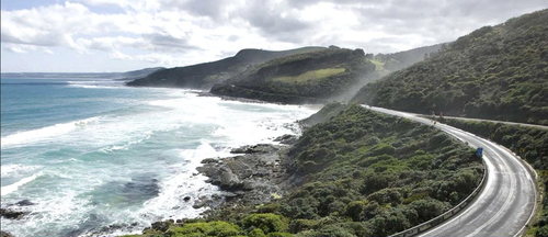 Woman swept to sea on Great Ocean Road