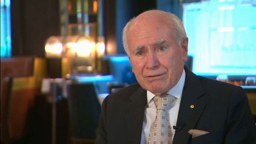 John Howard wants details on how the government will protect religious freedoms on same-sex marriage. (9NEWS)