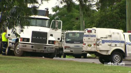 Solomon Shortland, 56, was killed after being hit by another truck at Kings Park in Sydney's north-west.