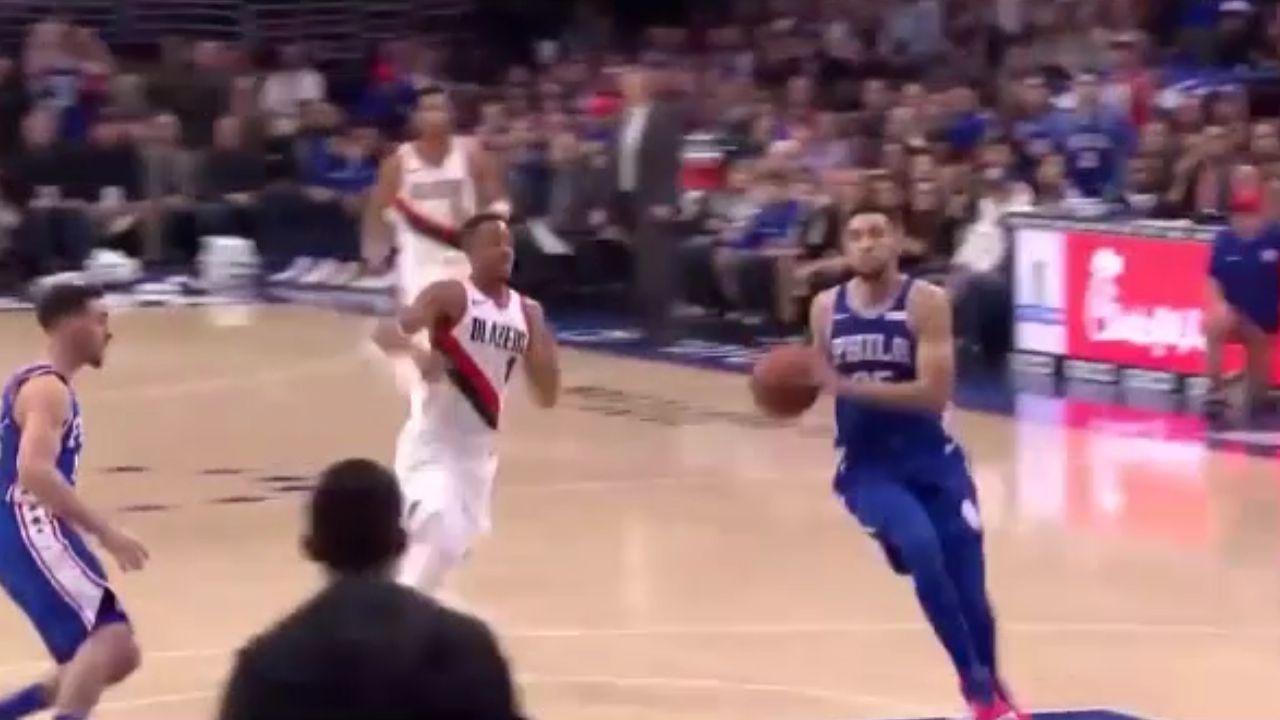 Simmons kills it against Portland