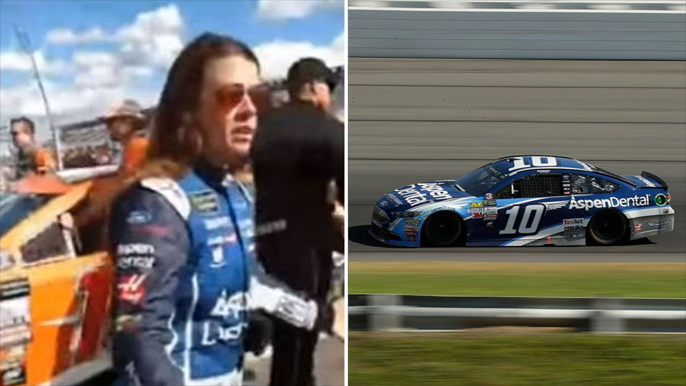 Danica Patrick has meltdown after fans boo her at Nascar race