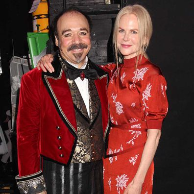 Danny Burstein and Nicole Kidman.
