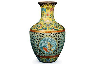 This $83 million vase was found in a British attic. Pic: Bainbridge auctioneers.