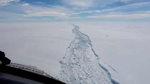 Large parts of the Antarctic ice sheet face irreversible melting unless ocean temperatures cool.