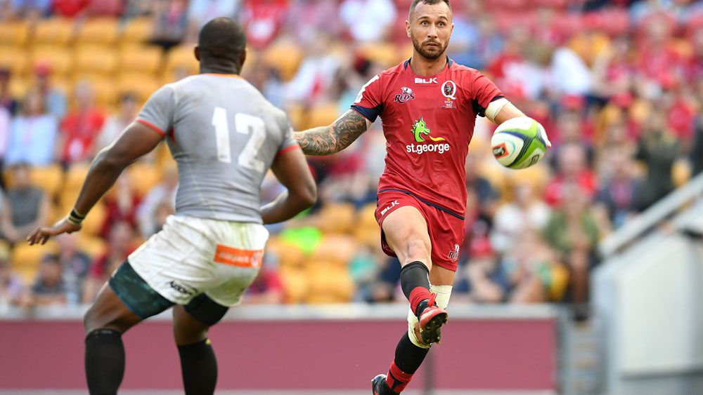 Quade Cooper and the Reds got the job done against the Kings. (AAP)