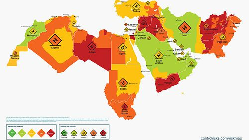 Most dangerous countries in the world to travel to