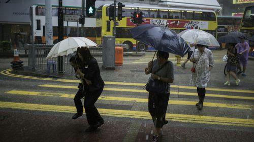 Qantas cancels flights to and from Hong Kong due to Typhoon Haima