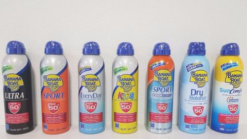 Seven Banana Boat sunscreens were allegedly labelled with the incorrect SPF. (Choice.com.au)