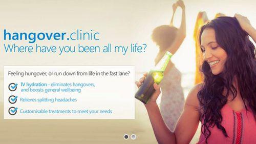 Health experts slam Australia's first hangover clinic