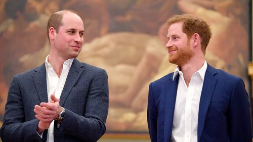 The Duke of Cambridge (left) and Prince Harry at the opening the Greenhouse Centre in London. (PA)