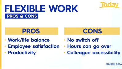 Employees need to decide whether flexible hours are the best fit for them.