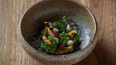 Quay's new pea dish