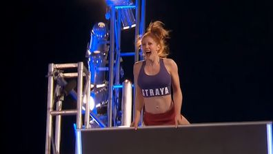 Olivia Vivian's journey up the Warped Wall