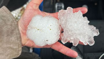 Hail storm NSW